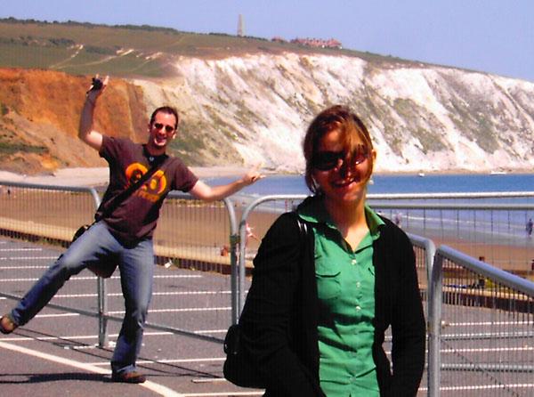 Ferrys, veleros, acantilados y algo más: La isla de Wight