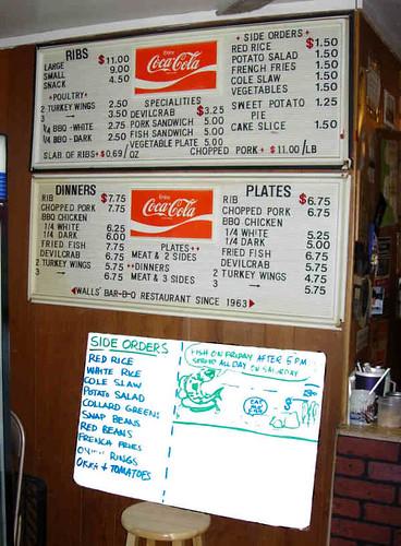 SC menu