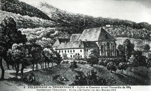 Thierenbach, Kirche und Kloster