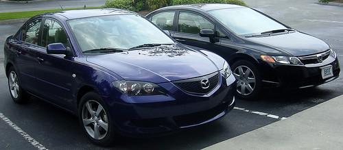Mazda 3 Vs. Honda Civic