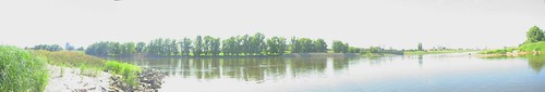 Panoramic view of the Elbe