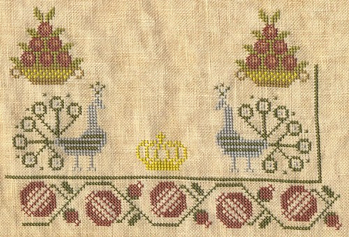 Pomegranate Sampler progress as of 7/3/06