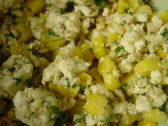Feta Corn Mixture