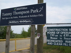 Tommy Thompson Park Entrance