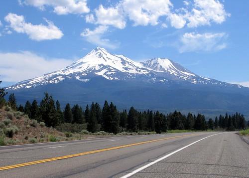 Mt. Shasta from Hwy 97
