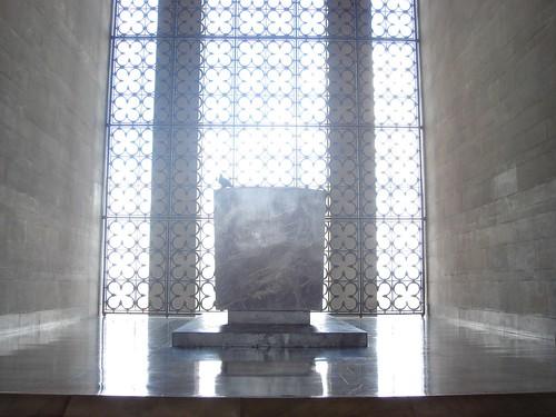 Ataturk tomb at Anitkabir, Ankara