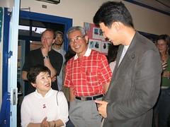 Satoshi and his parents