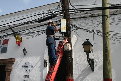 electricity in santo domingo