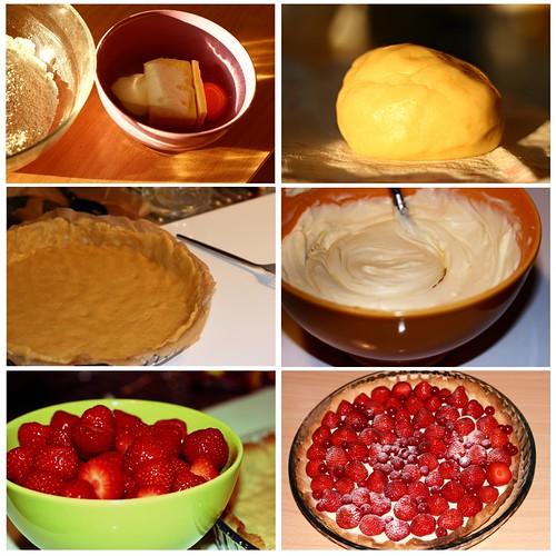 Tarte aux fraises : ma recette illustree