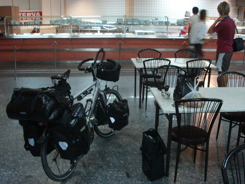 Bike ready to eat in Ankara otogar (bus terminal)
