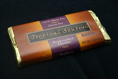 tropical source - raspberry dark chocolate