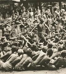 Kecak jaman 1930