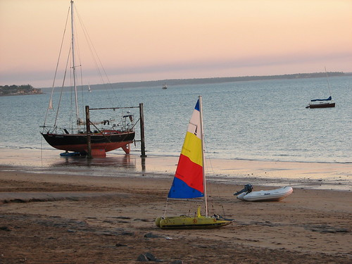 Sunset  sails Darwin Sailing Club