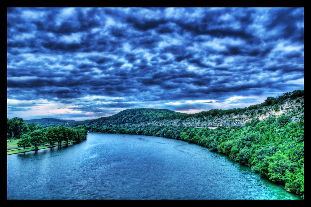 Cloudy Evening on the Colorado River