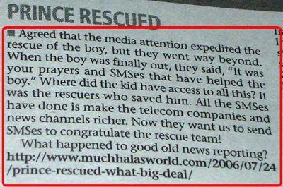 My Blog Post featured in Mumbai Mirror