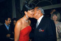 Kimora Lee Simmons and Oscar de la Renta