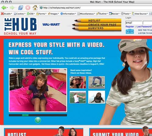 Wal-Mart's social network knock-off