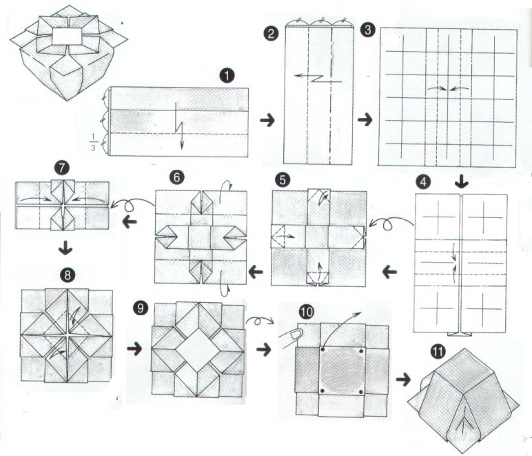 Chinese Origami BookIt Takes Around 10min To Make The Pattern Is Easy Follow Its Only A Little Tricky Trisect Paper In First 2 Steps