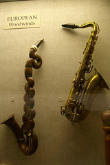 Bass clarinet and alto sax