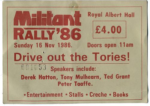 Militant Rally '86