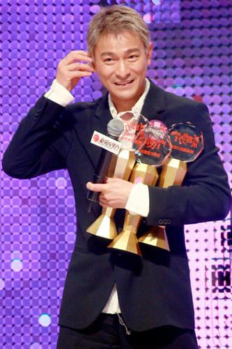 Andy Lau, Metro Radio music awards 2007