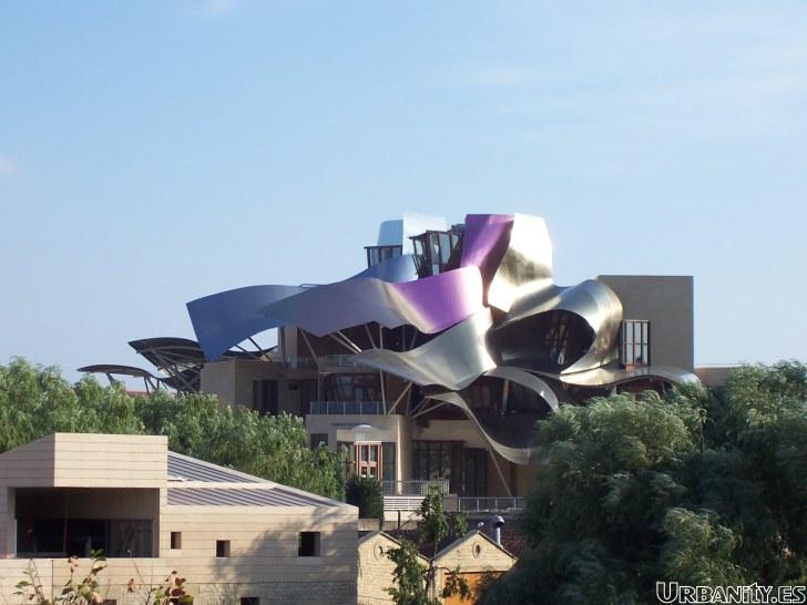 Bodegas Frank Gehry Marques de Riscal Elciego Alava