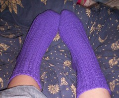 dimple socks finished
