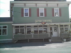 Sunset Corners Store in Ames, NY.