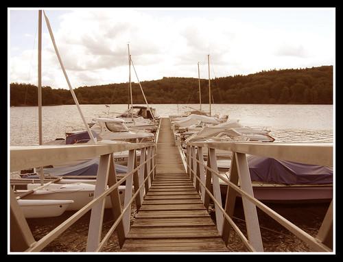 Base nautique de Vauveix (Lac de Vassivière)
