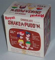 Shake-A Pudd'n box