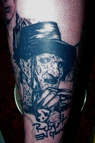 my freddy tattoo