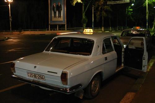 Classy night cap in Ganca, Azerbaijan.