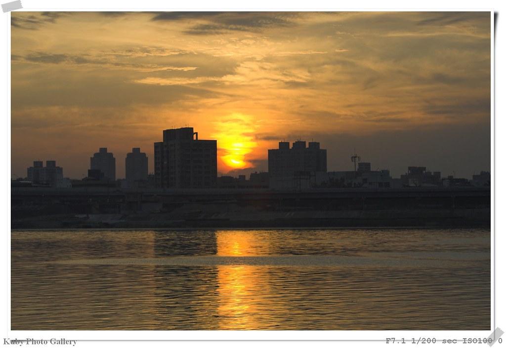 大稻埕碼頭夕陽