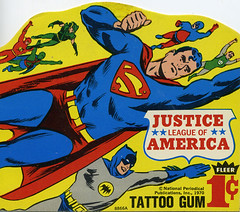 JLA Tattoo card