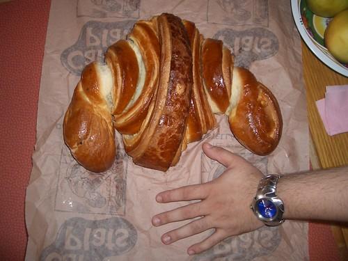 Croissant gegant