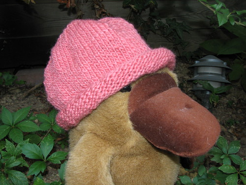 a finished hat