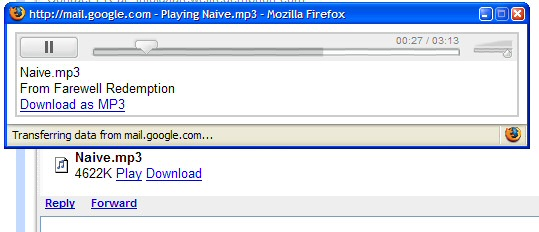 gmailMP3player