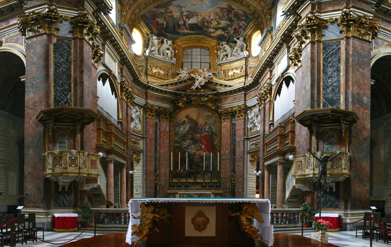 Church of S Ambrogio e Carlo in Rome
