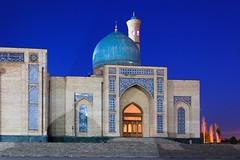 Tashkent twilight, Uzbekistan (Khast Imam) photo by Frans.Sellies