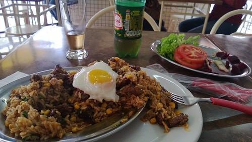 Fantastic food and a guarana
