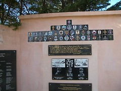 Hyères- Memorial de la 1ere DFL