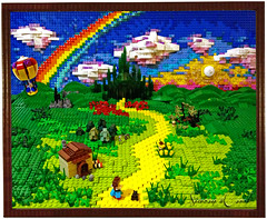 Follow the Lego Brick Road photo by Siercon and Coral
