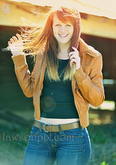 No one can smile on the outside without first smilling on the inside - Erin Poole Model photo by lawsonpix