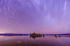 Star Trails @ Mono Lake photo by vtgohokies