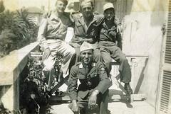 22 BMNA - 1945 - Juan les Pins- Groupe de soldats de la 2e compagnie - Musée de l'Armée