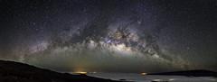 Milky Way Rising over Hilo photo by Bill Shupp
