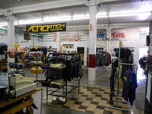 Inside of Aerostich