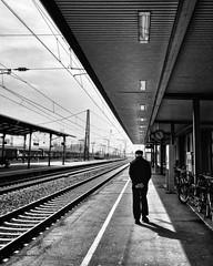 10.25am, Schwetzingen Train Station, Germany photo by -Gerard Collett-