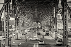 Riverside drive viaduct NYC photo by Martijn N. van Dam