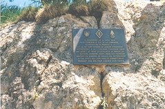 Authion- Plaque DFL Col de la Lombarde- Wladislas Picuira